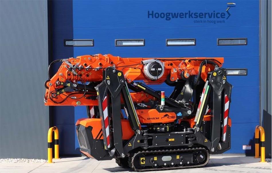 Hoogwerkservice - Minihijskraan Jekko SPX532