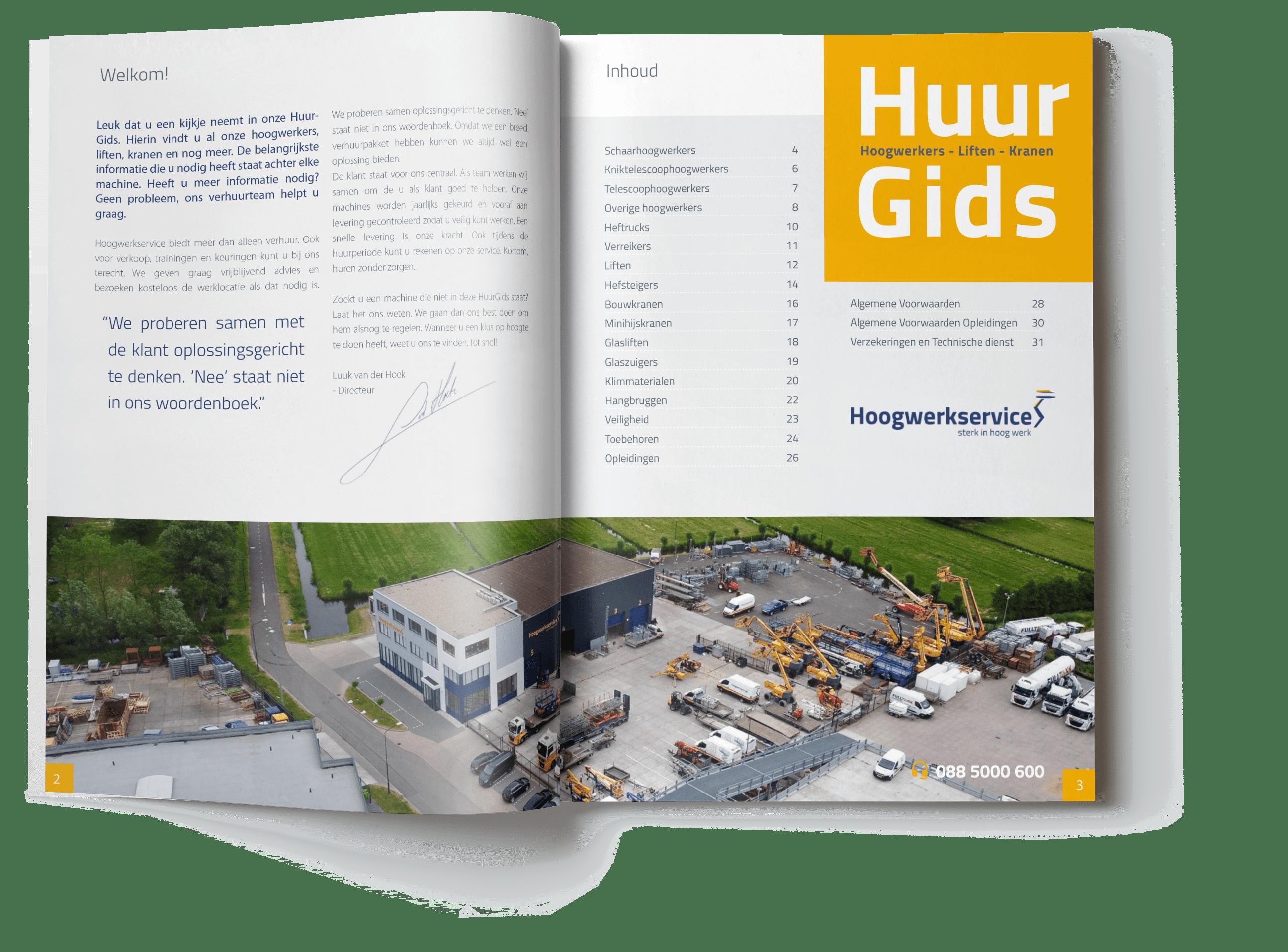 Hoogwerkservice Huurgids