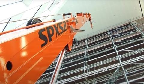 Minihijskraan Jekko SPX537 Utrecht - Project