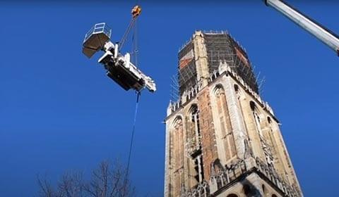 Spinhoogwerker huren in Utrecht - Project