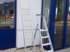 Werken op een ladder of een trap