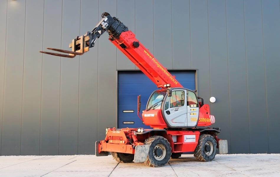 Huren - Glaslift SL380 Outdoor High Lifter